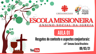Diocese inicia curso sobre Ensino Social da Igreja