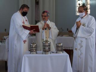 Diocese realiza Missa do Crisma
