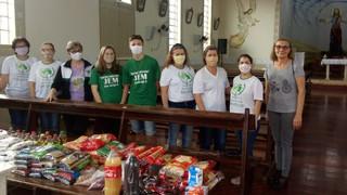 Pastoral da Criança e JEM promovem campanha de arrecadação de alimentos