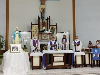 Dom Liro preside missa pelo 30º dia de falecimento do Pe. Eugênio Hartmann