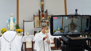 Dinamismo e criatividade marcam a celebração de Corpus Christi em Alecrim