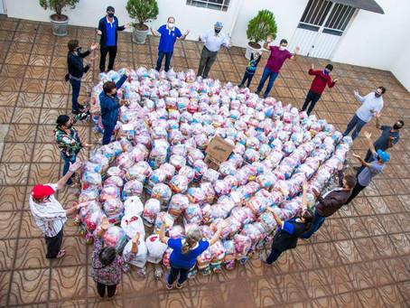 Paróquia de Giruá realiza campanha de arrecadação de alimentos
