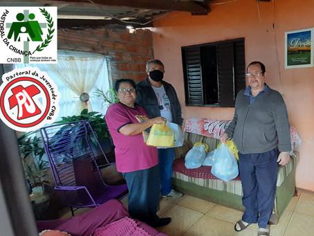 PJ e PACRI de Roque Gonzales realizam doação de Kits Solidários