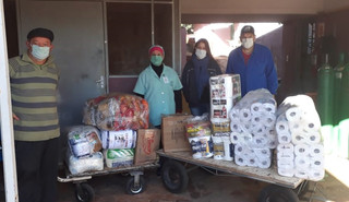 Paróquia de Pirapó realiza doações ao Hospital de São Luiz Gonzaga