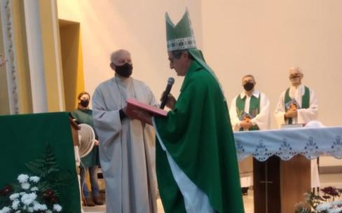 Paróquia de Guarani acolhe novo Pároco e Vigário Paroquial