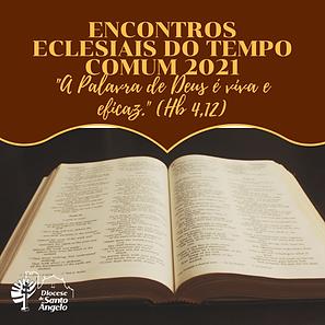 ENCONTROS ECLESIAIS DO TEMPO COMUM 2020.