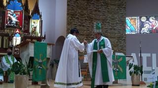 Pe. Fabian é acolhido como novo pároco em Cândido Godói