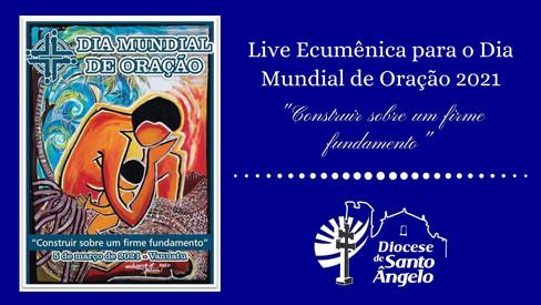 Igrejas Cristãs de Santo Ângelo rezam juntas no Dia Mundial de Oração