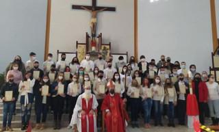 Dom Liro celebra Crismas em Alecrim