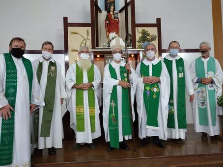 Paróquia Santa Cecília acolhe novo Vigário paroquial