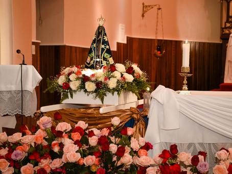 Paróquia Sagrado Coração, de Santa Rosa, realiza grande programação de Nossa Senhora Aparecida