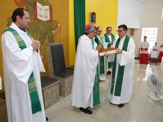 Padre André Borges da Silva, SCJ assume como pároco e Pe. Pedro como vigário paroquial a Paróquia No