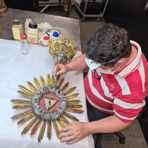 Ostensório da Catedral de Cruz Alta é confirmado como peça Missioneira