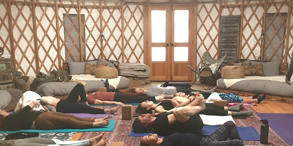"""Yoga -""""Moving from the Inside Out"""" led by Molly Jorgensen, MBody Movement"""