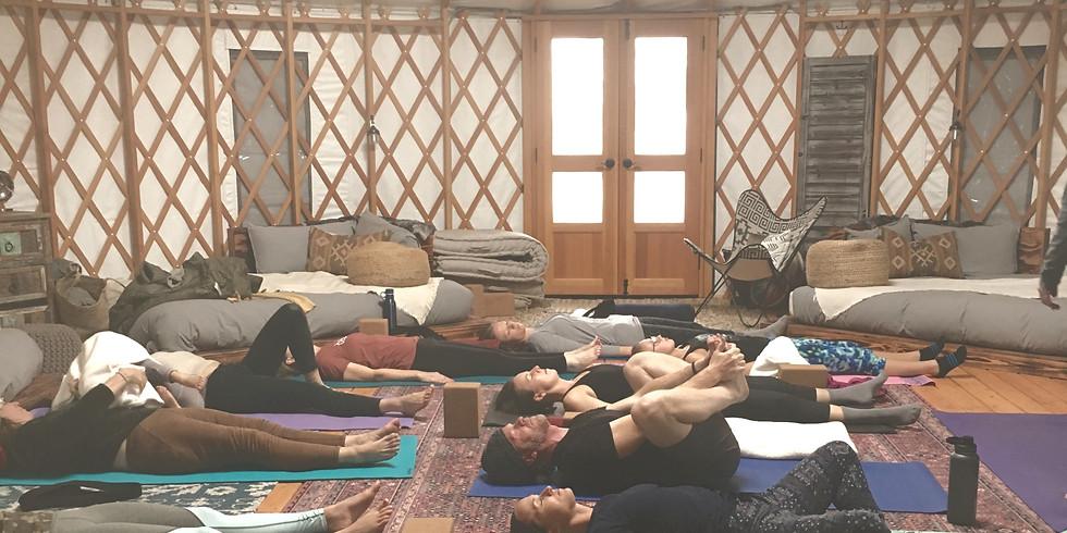 Restorative Flow led by Avenues Yoga