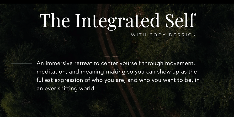 The Integrated Self with Cody Derrick