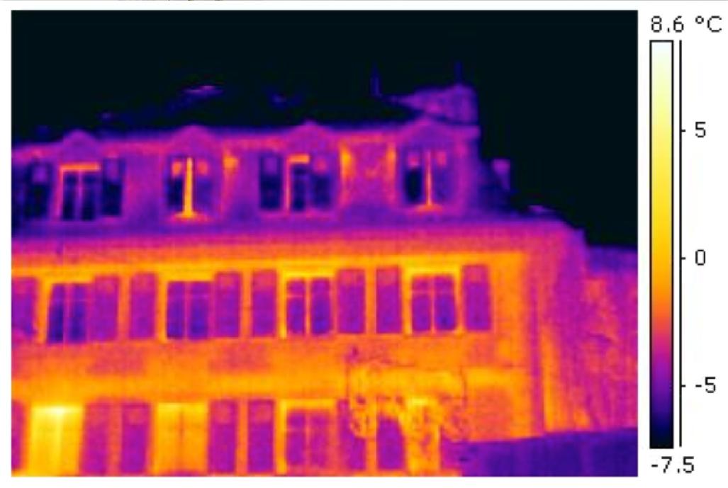 Thermographie Rénovation bâtiment et commerces Mercerie, Lausanne Arch. CBMM