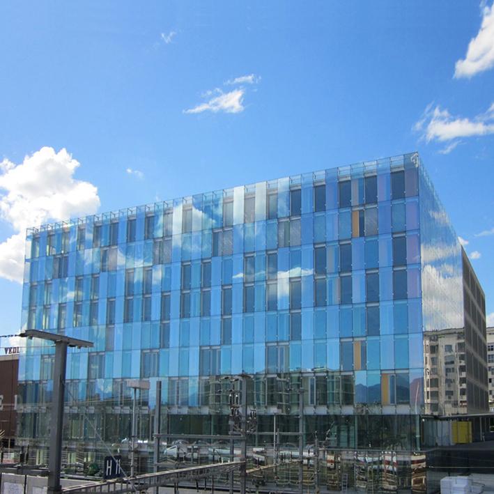 Dimensionnement de façades double-peau Bâtiment FIPOI, Genève, Arch. Group8