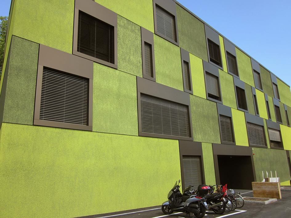 Bâtiments Minergie-P Foyer Sècheron, Ville de Genève, Arch. BFIK