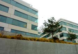 Optimisation énergétique de façades lisses Headquarter Nespresso, Lausanne, Arch. CCHE