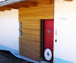 Tests d'étanchéité à l'air Maison Minergie-P à Sierre