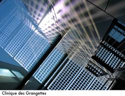 Stack effect ventilation / Clinique des Grangettes, Arch. E. Dunant