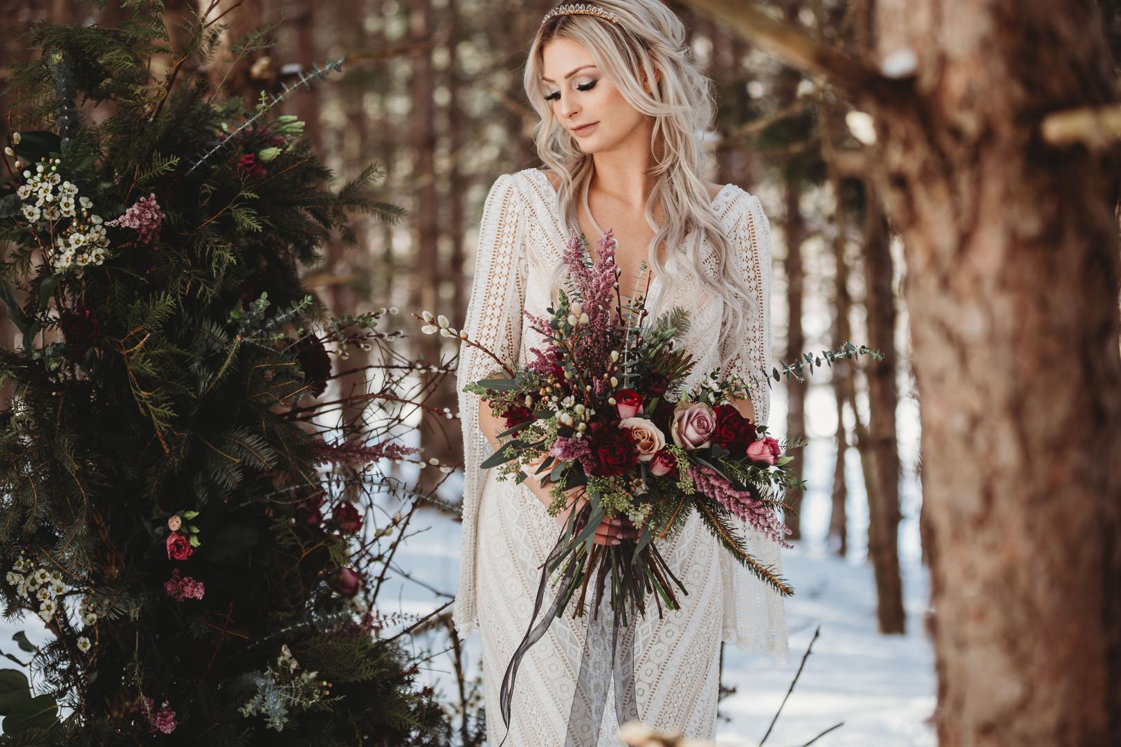 Enchanted Winter Bride