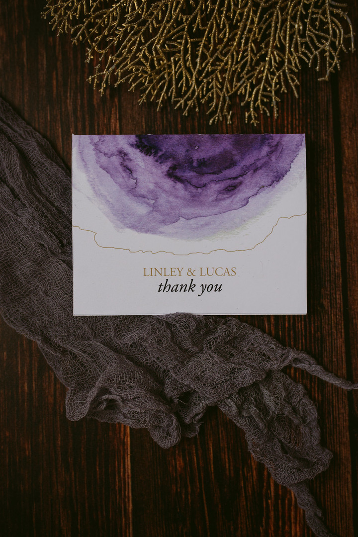 The Elemental thank you note