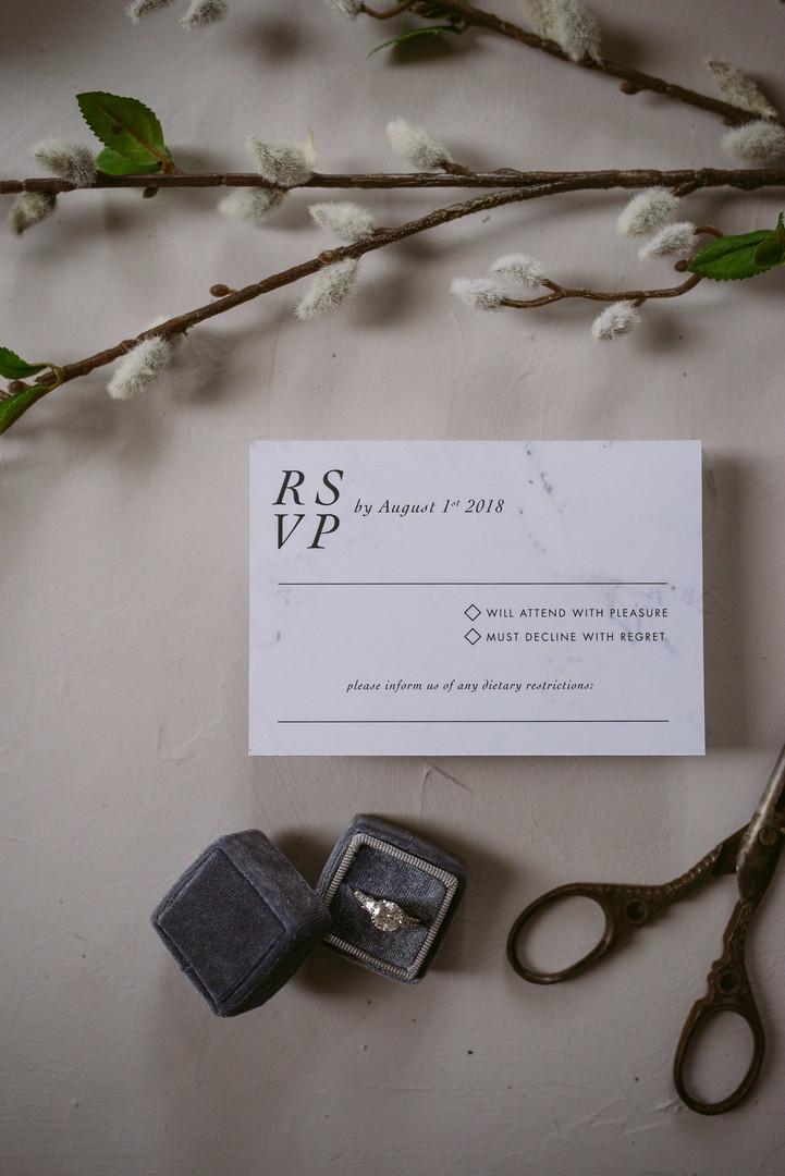 The Villa Suite Reply Card