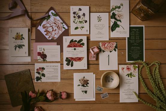 The Modern Botanist Wedding Suite