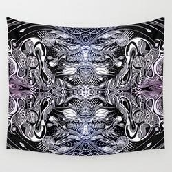 Futurist Wall Tapestry
