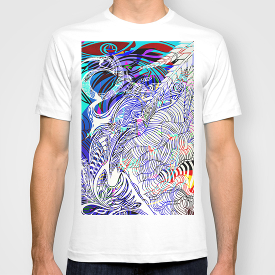 Lizard T-Shirt White