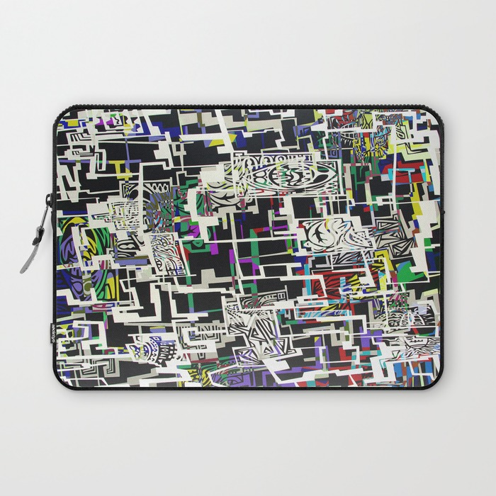 Blocked Macbook Sleeve