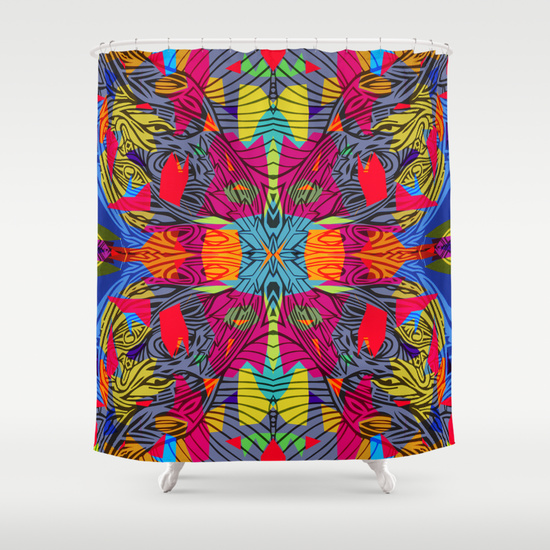 Colours 1.2 Shower Curtain
