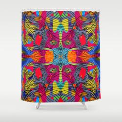 Colours 1.2 Shower Curtain