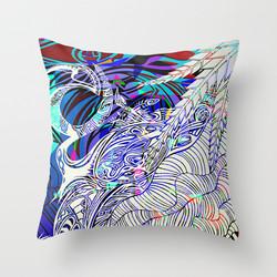 Lizard Cushion