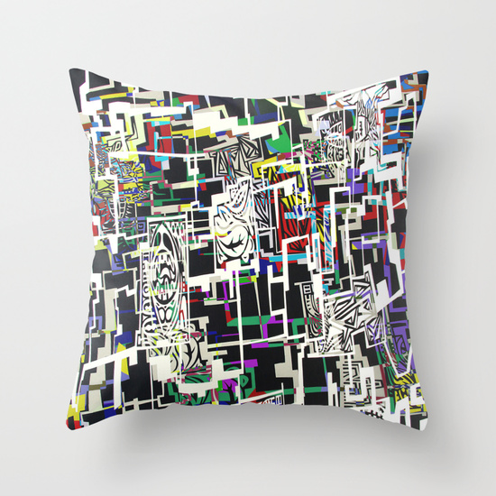 Blocked Cushion