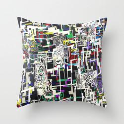 Blocked Cushion