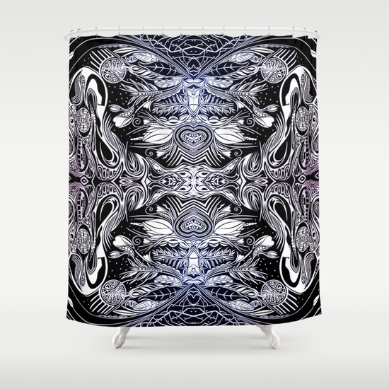 Futurist Shower Curtain