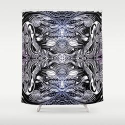 Futurist Shower Curtain
