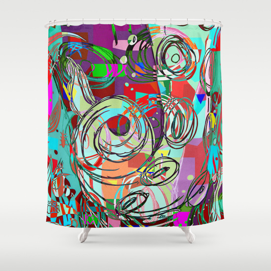 Octopussy Shower Curtain