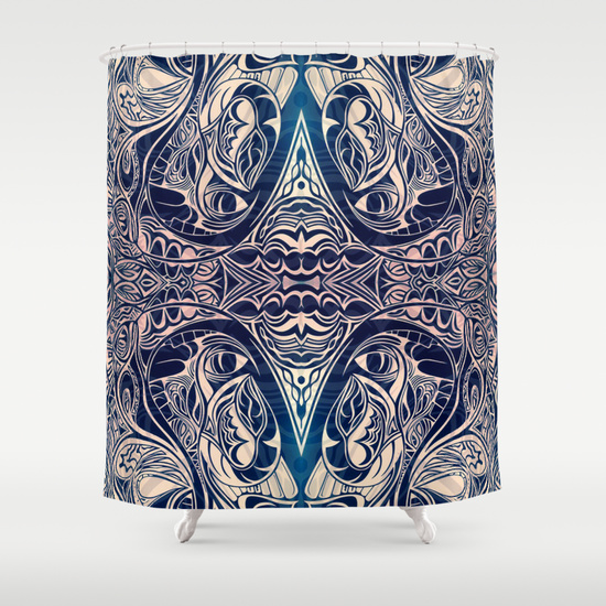 Bull by the Horns Shower Curtain