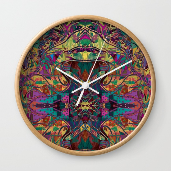 Frogs Porn Wall Clock