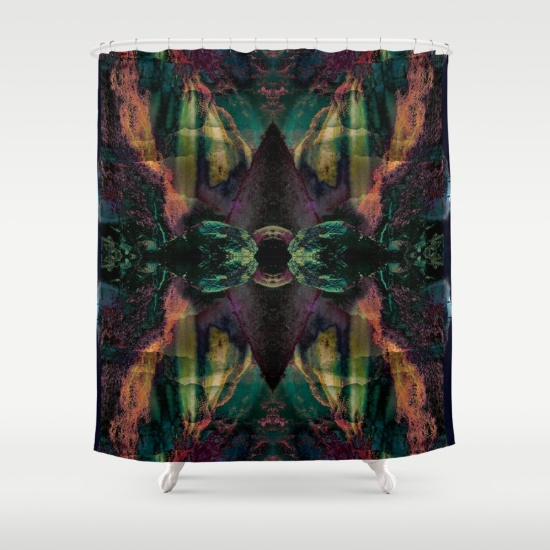 Forest Eye Shower Curtain