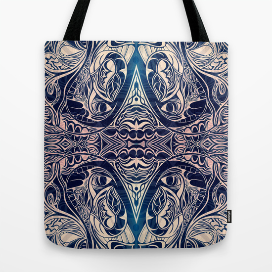 Bull by the Horns Tote Bag