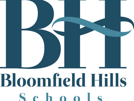 An announcement from Bloomfield Hills Schools (BHS)