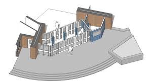 Secure front entry drawing example