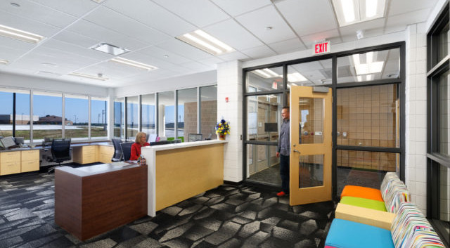 Secure front office example