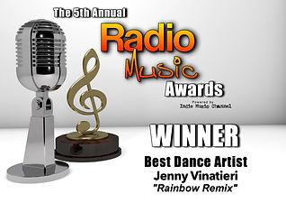RMA Winner Dance Artist Jenny Vinatieri