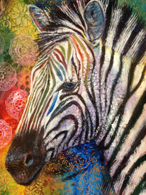 Zebra in Color